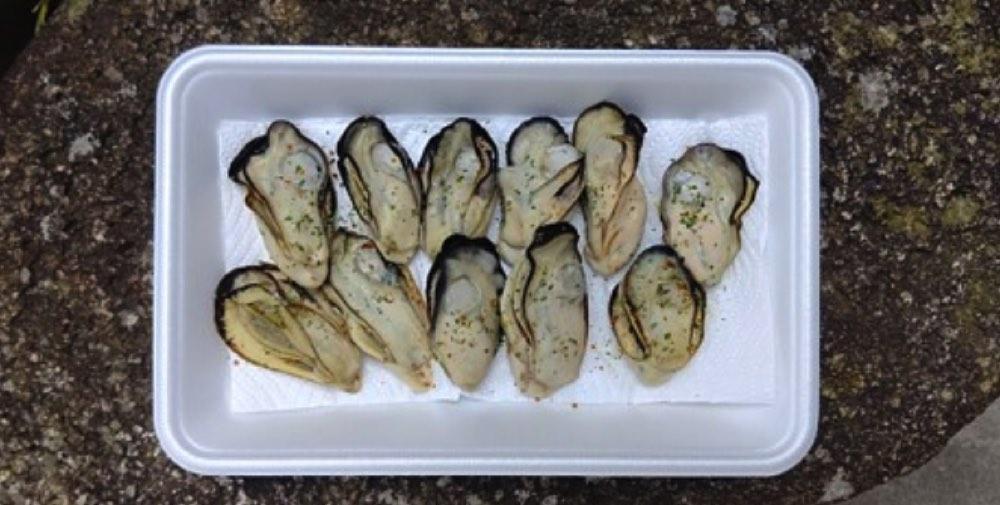 牡蠣,乾燥