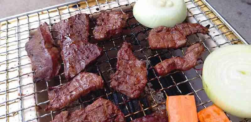 七輪,焼き肉